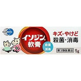 【シオノギ製薬】イソジン軟膏5g【第3類医薬品】【RCP】