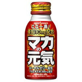 ポッカサッポロ マカの元気ドリンク 100mlボトル缶