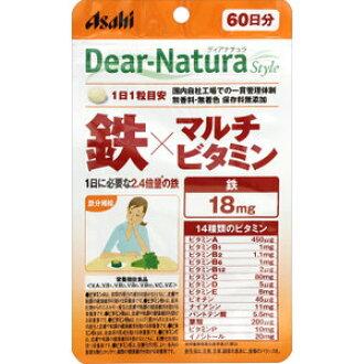 含Dear-Natura Style铁×多维生素60粒的小袋型(60天份)dianachurasutairu 10P23Apr16