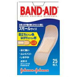 【ジョンソン・エンド・ジョンソン】バンドエイド 肌色 スモール 25枚【RCP】【10P03Dec16】