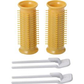 【小泉成器】ヘアカーラー Mサイズ(21mm) KHC−V21/D(オレンジ) ☆家電 ※お取り寄せ商品【RCP】【10P03Dec16】
