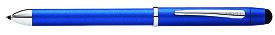 【毎日ポイント10倍!】【クロス★正規輸入品】テックスリー プラス メタリックブルー NAT0090-8 複合ペン [保証書付き] ※お取り寄せ商品【RCP】