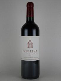 [2012] ポイヤック・ド・ラトゥール Pauillac de Latour