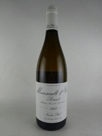 [2005] ムルソー・ポリュゾ -ニコラ・ポテル- Meursault 1er Poruzot -Niscolas Potel-