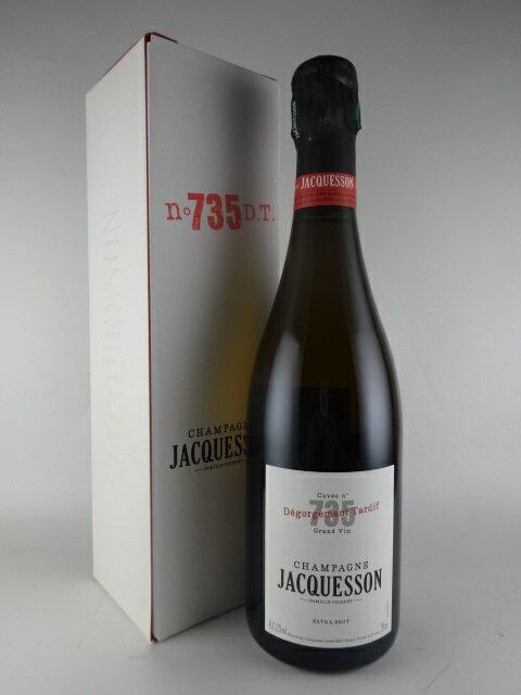 【箱入り】[NV] ジャクソン キュヴェ735 デゴルジュマン・タルディフ エキストラ・ブリュット JACQUESSON Cuvee 735 Degorgement Tardif Extra Brut