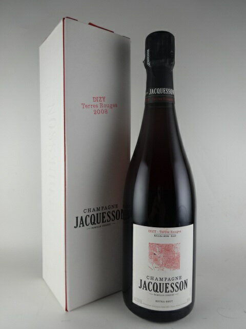 【箱入り】[2008] ジャクソン ディジー・テール・ルージュ ロゼ エクストラ・ブリュット JACQUESSON Dizy Terre Rouge Rose Extra Brut