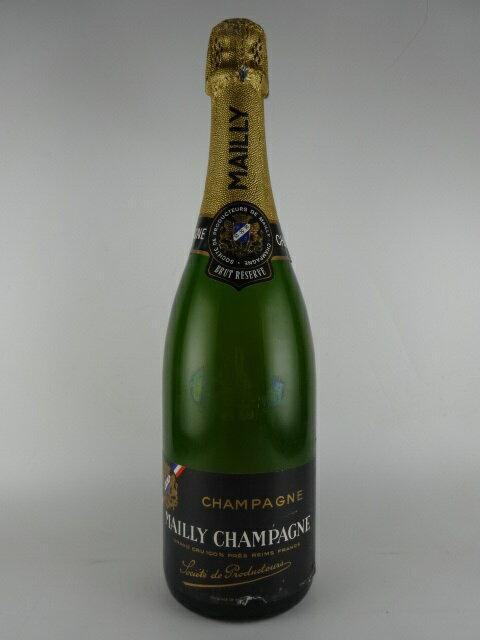 [NV]【1980s】マイィ・シャンパーニュ ブリュット・レゼルヴ Mailly Champagne Brut Reserve (Old Bottlle)