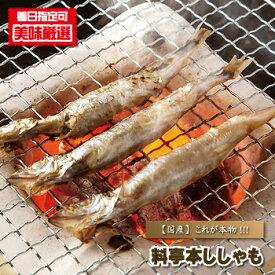 シシャモ 干し 『 北海料亭本ししゃも(子持ち)/30本入り 』 北海道産 柳葉魚 たまご タマゴ 卵 めす メス 雌