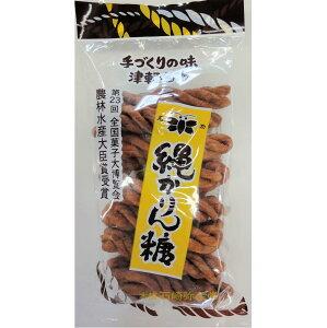 石崎弥生堂 縄かりん糖 1袋 (200g)(縄かりんとう なわかりんとう かりんとう かりん糖)
