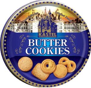 バタークッキー 缶 (340g) カステル クッキー クッキー缶 大容量クッキー
