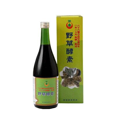 【ポイント4倍】66品目の栄養素がたっぷり 野草酵素 (720ml)