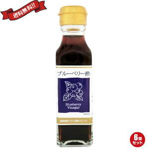 【ポイント6倍】最大33倍!お酢 ドリンク 飲む ブルーベリー酢 120ml TAC21 6個セット
