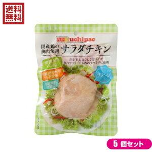 サラダチキン 無添加 国産 ウチノ サラダチキン(プレーン) 100g 5個セット