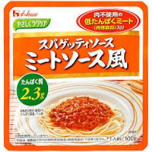 【送料無料】100g×10 やさしくラクケア スパゲッティミートソース風 低たんぱくミート(肉様食品)入り 100g×10