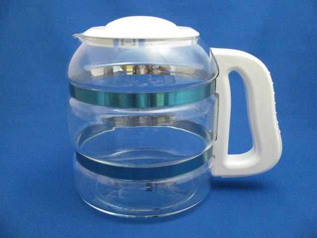 蒸留水器専用ガラス容器 白 送料無料