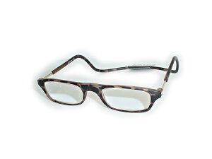 既成 老眼鏡+1.50クリックリーダーClic readers マットブラウン+1.50送料無料(沖縄・離島1000円 北海道500円)