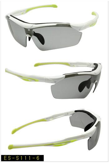 NEWエレッセスポーツサングラス/ellesse/エレッセ/,ES-S111,POLARIZED,新型,ES-S111,偏光,高機能サングラススポーツサングラスなのに度付きに出来る優れものゴルフ,ジョギング,釣り,ゴルフコンペ,記念品,ellesse(エレッセ)