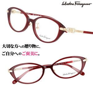 Salvatore Ferragamo サルヴァトーレ フェラガモ sf2882ra 603 ワインレッド 赤 眼鏡 メガネ おしゃれ ブランド眼鏡 ブランド メガネフレーム レディース 女性用 プレゼントに最適 ギフト