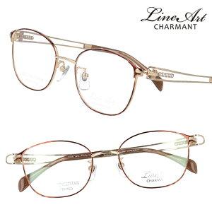 メガネ Lineart ラインアート xl1623-br ブラウン ゴールド レディース 40代 50代 60代 おすすめ 高級 眼鏡 綺麗 きれい かわいい おしゃれ お洒落 チタン製 エクセレンスチタン 日本製 鯖江 メガネ