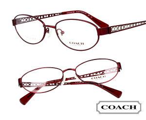 COACH コーチ hc5061td-9048 バーガンディー 赤 メタル マット おしゃれ ロゴ ブランド眼鏡 ブランド 眼鏡 男性 女性 レディース プレゼントに最適 メガネフレーム