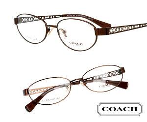 COACH コーチ hc5061td-9276 ブラウン 茶 メタル クリア おしゃれ ロゴ ブランド眼鏡 ブランド 眼鏡 男性 女性 レディース プレゼントに最適 メガネフレーム