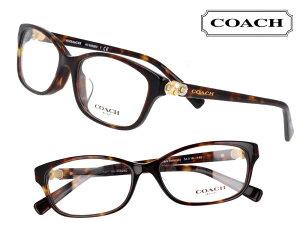 COACH コーチ hc6092bd-5120 ブラウン ブラウンデミ 茶 こげ茶 おしゃれ 花 ワンポイント ロゴ ブランド眼鏡 ブランド 眼鏡 男性 女性 レディース プレゼントに最適 メガネフレーム