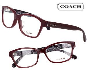 COACH コーチ hc6116f-5509 オックスブラッド 暗い赤 濃い赤 おしゃれ ロゴ ブランド眼鏡 ブランド 眼鏡 男性 女性 レディース プレゼントに最適 メガネフレーム