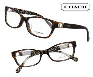 COACH コーチ hc6119f-5507 ブラウンデミ 茶 こげ茶 おしゃれ ロゴ ブランド眼鏡 ブランド 眼鏡 男性 女性 レディース プレゼントに最適 メガネフレーム