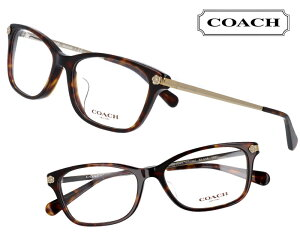 COACH コーチ hc6142f-5120 ブラウンデミ こげ茶 茶色 お花モチーフ おしゃれ かわいい ロゴ ブランド眼鏡 ブランド 眼鏡 女性 レディース プレゼントに最適 メガネフレーム