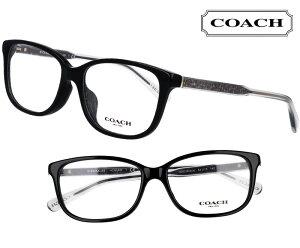 COACH コーチ hc6143f-5002 ブラック 黒 クリア グレー おしゃれ ロゴ ブランド眼鏡 ブランド 眼鏡 男性 女性 レディース プレゼントに最適 メガネフレーム