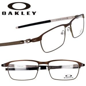 OAKLEY オークリー ox3184 0254 TINCUP ティンカップ パウダーピューター 眼鏡 メガネ フレーム ステンレススチール メンズ 男性用 丈夫でしなやか 洗練 アイコニック