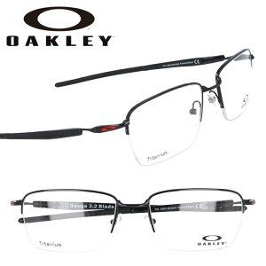 OAKLEY オークリー ox8111 0353 CROSSLINK クロスリンク サテングレースモーク グリーンイエロー 眼鏡 メガネ フレーム オーマター メンズ 男性用 スポーツ シック シンプル 伊達メガネ oakley