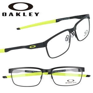 OAKLEY オークリー oy3002 0448 STEEL PLATE XS スチールプレート サテンブラック 黒 子供用めがね 眼鏡 メガネ フレーム ジュニア こども キッズ スポーツ 大人っぽい カッコいい