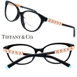 TIFFANY&Co. TIFFANY ティファニー tf2203-b-f8001 黒 ブラック ティファニーブルー キラキラ 10代 20代 30代 40代 入学記念 卒業記念 眼鏡 メガネ おしゃれ 可愛い かわいい 上品 ラグジュアリー 憧れ レ