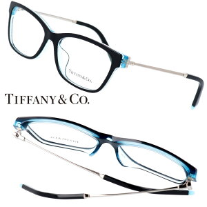 TIFFANY&Co. TIFFANY ティファニー tf2204-f8285 黒 ブラック ティファニーブルー 10代 20代 30代 40代 入学記念 卒業記念 眼鏡 メガネ おしゃれ 可愛い かわいい 上品 ラグジュアリー 憧れ レディース