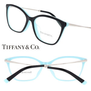 TIFFANY&Co. TIFFANY ティファニー tf2205-f-8055 ブラック ティファニーブルー 10代 20代 30代 40代 入学記念 卒業記念 眼鏡 メガネ おしゃれ 可愛い かわいい 上品 ラグジュアリー 憧れ レディース 女