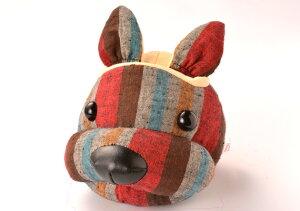 遠州綿紬 フェイススタンド I-10 レッド 眼鏡スタンド 犬 かわいい 動物 メガネスタンド めがねスタンド メガネスタンド かわいい メガネスタンド おしゃれ メガネスタンド おもしろ