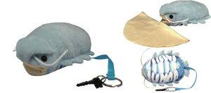 シンカイギョクリーナー I-119 ダイオウグソクムシ グソクムシ 深海魚 眼鏡拭き めがね拭き メガネ拭き おすすめ メガネクロス かわいい クリーニングクロス スマホ 液晶拭き プレゼント ギ