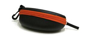 ジッパーケース EV8638B-3 オレンジ メガネケース おしゃれ 眼鏡ケース レディース メンズ 女性 男性 子供 プレゼント ギフト めがねケース シンプル