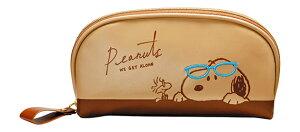 メガネポーチ スヌーピー ミツメル 094107 メガネケース おしゃれ 眼鏡ケース レディース メンズ 女性 男性 子供 プレゼント ギフト めがねケース シンプル