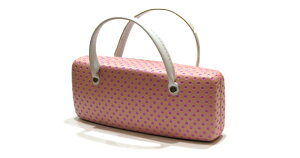 ハンドバッグケース EA1008A-3 ピンク メガネケース おしゃれ かわいい 眼鏡ケース レディース メンズ 女性 男性 子供 プレゼント ギフト めがねケース シンプル キャラクター 誕生日 お祝い