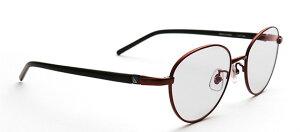 G-SQUARE ジースクエア ゲーミンググラス ユニセックス グレー 度無し メタル RD*BK PCメガネ ブルーライトカット pcめがね pc眼鏡 伊達メガネ 紫外線カット 青色光カット パソコンメガネ スマホ