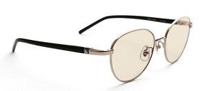 G-SQUARE ジースクエア ゲーミンググラス ユニセックス ブラウン 度無し メタル SL*BK PCメガネ ブルーライトカット pcめがね pc眼鏡 伊達メガネ 紫外線カット 青色光カット パソコンメガネ スマ