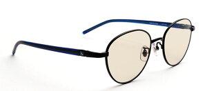G-SQUARE ジースクエア ゲーミンググラス ユニセックス ブラウン 度無し メタル BK*NV PCメガネ ブルーライトカット pcめがね pc眼鏡 伊達メガネ 紫外線カット 青色光カット パソコンメガネ スマ