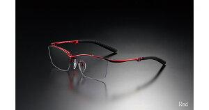 G-SQUARE ジースクエア ゲーミンググラス カジュアル グレー 度無し ナイロール レッド PCメガネ ブルーライトカット pcめがね pc眼鏡 伊達メガネ 紫外線カット 青色光カット パソコンメガネ ス