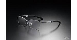 G-SQUARE ジースクエア ゲーミンググラス カジュアル グレー 度無し ナイロール シルバー PCメガネ ブルーライトカット pcめがね pc眼鏡 伊達メガネ 紫外線カット 青色光カット パソコンメガネ