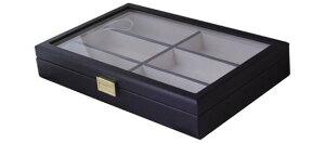 サカエケース コレクションボックス 6本収納 複数 ディスプレイ メガネケース おしゃれ かわいい 眼鏡ケース レディース メンズ 女性 男性 子供 プレゼント ギフト めがねケース シンプル キ