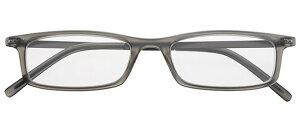 ライブラリー コンパクト 5626 グレー +2.50 老眼鏡 おしゃれ メンズ レディース コンパクト スリム 携帯用 かっこいい かわいい 折り畳み