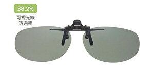 シェードコントロール sc-03(lgr) メガネの上からサングラス クリップ式 サングラス クリップオン メガネ サングラス 挟む 取り付け メガネの上から装着 紫外線カット 簡単