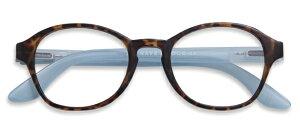 HAL CIRCLE HORN/BLUE +1.00 老眼鏡 おしゃれ メンズ レディース コンパクト スリム 携帯用 かっこいい かわいい 折り畳み シニアグラス